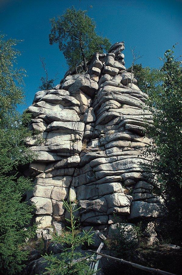 Große Schnarcherklippe im Harz