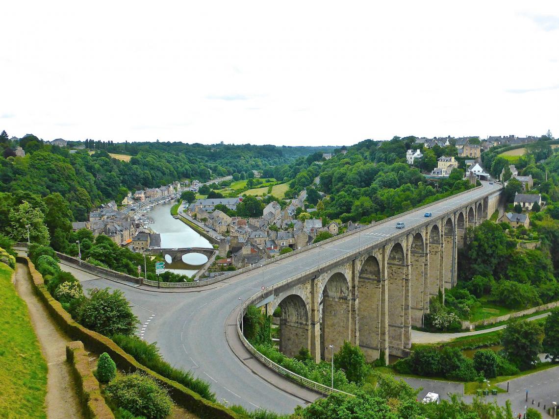 Brücke von Morlaix, Frankreich