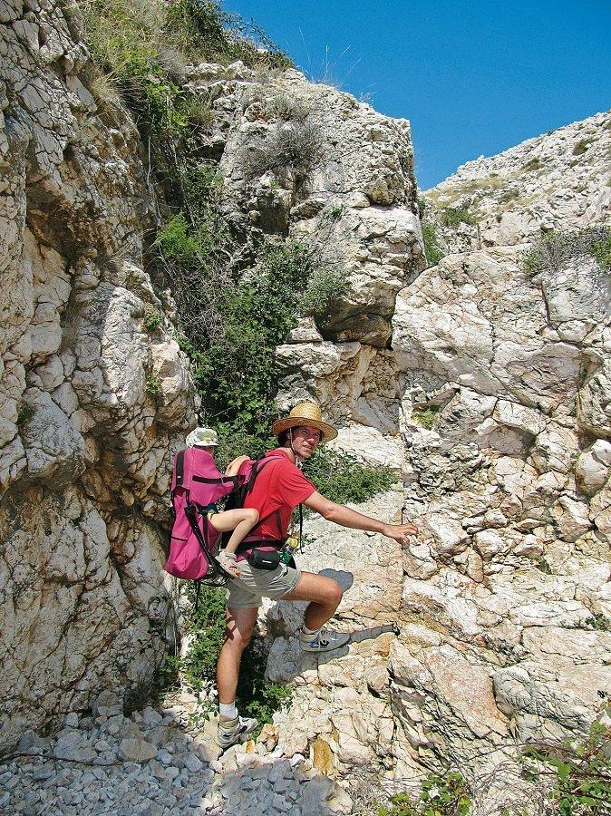 Familienwanderung Kroatien Insel Krk Canyon