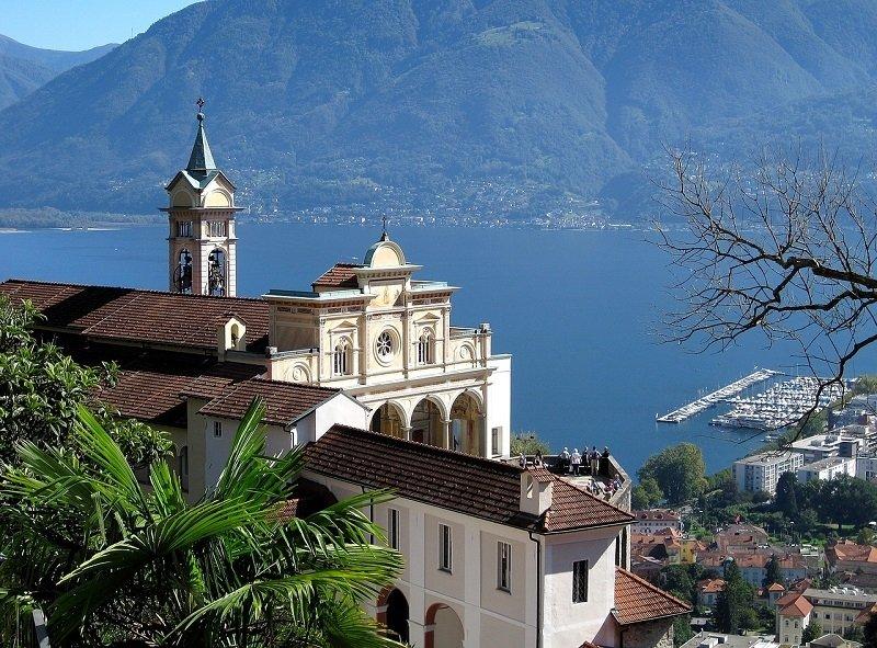 Cestello Visconteo in Locarno at lake Maggiore