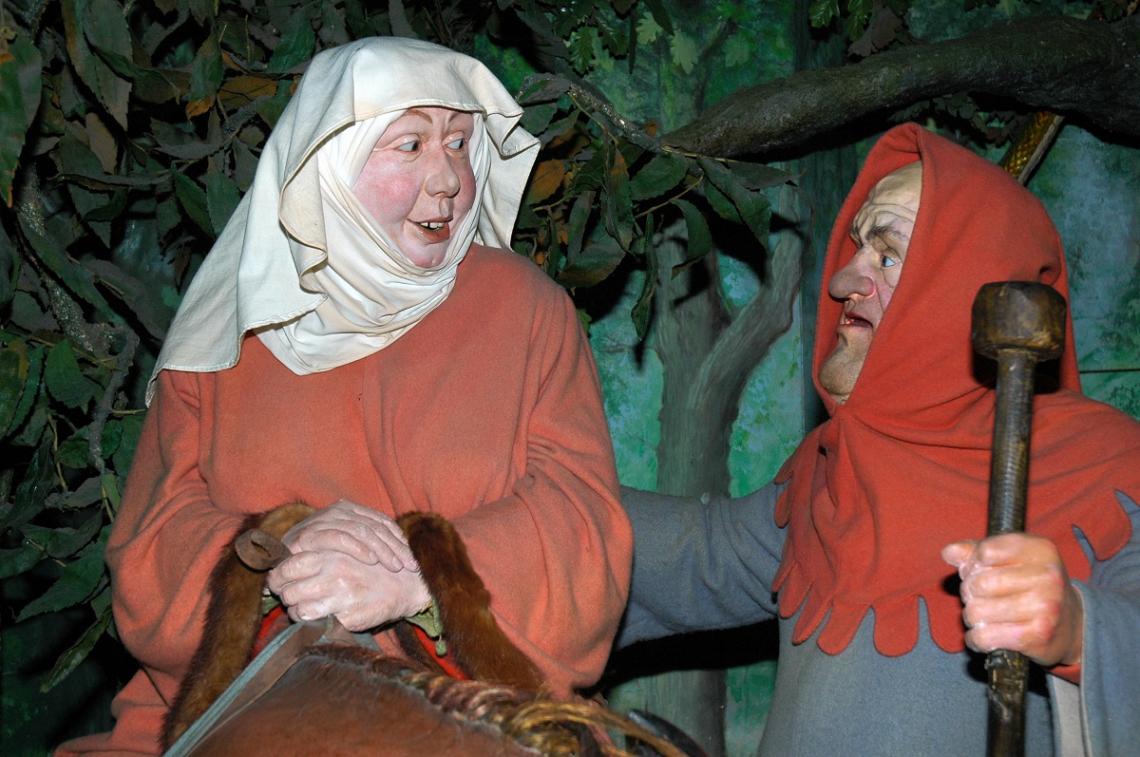 Figuren Canterbury Tales, England, Kent