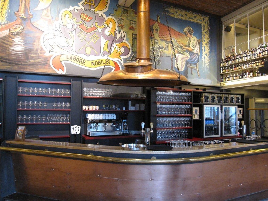 Bierbrouwerij de Halve Maan in Brugge.