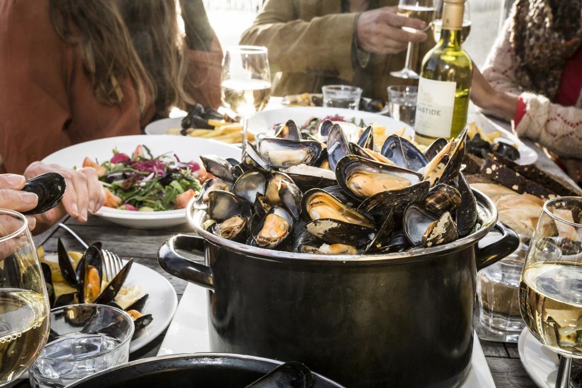 Restaurant Muscheln Zeeland