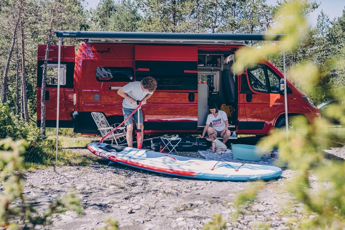 Mehr Infos zu den Camper Vans von Sunlight