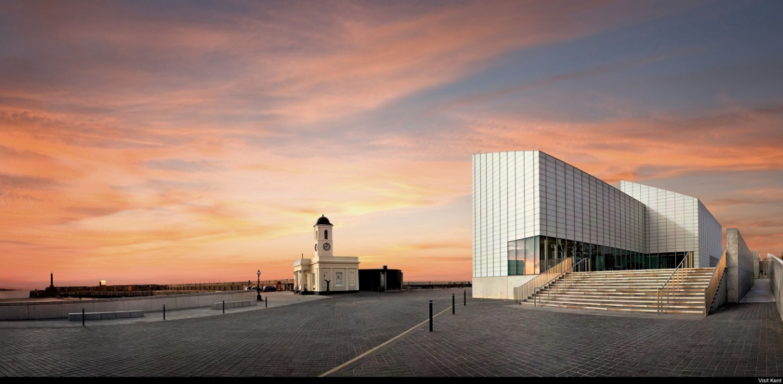 Turner Contemporary Kunstgalerie in Margate, Kent, England