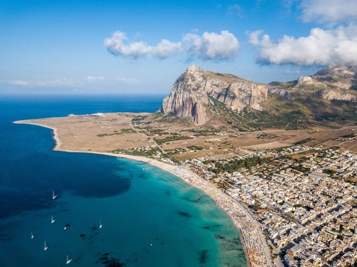 Stranden Sicilië
