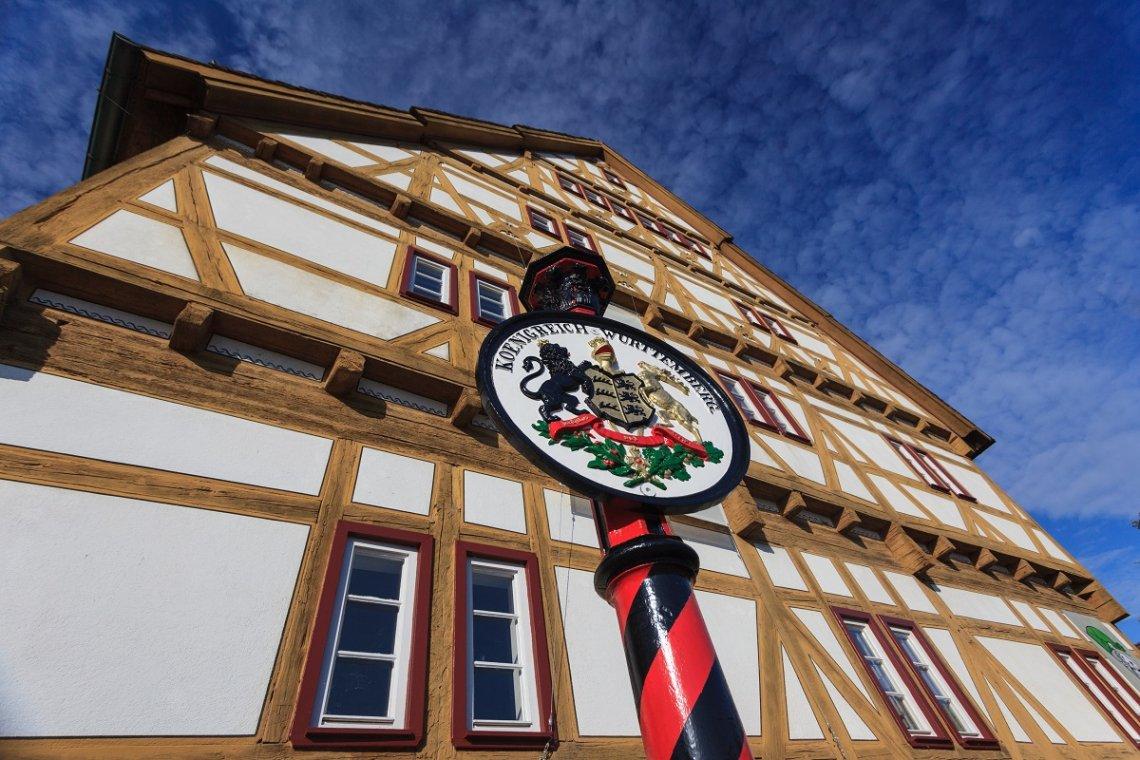 Das älteste Haus von Waiblingen um 1550