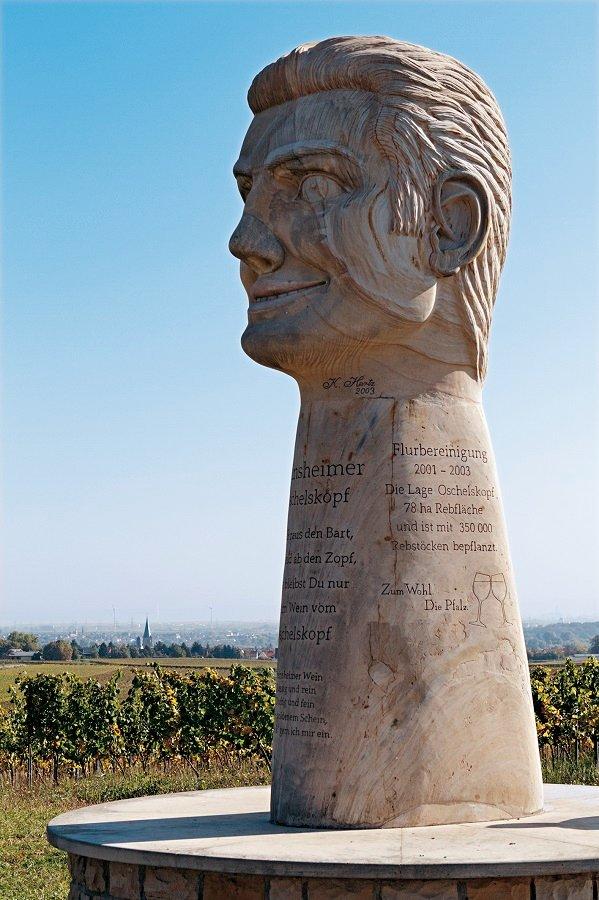 Skulptur Freinsheimer Oschelskopf