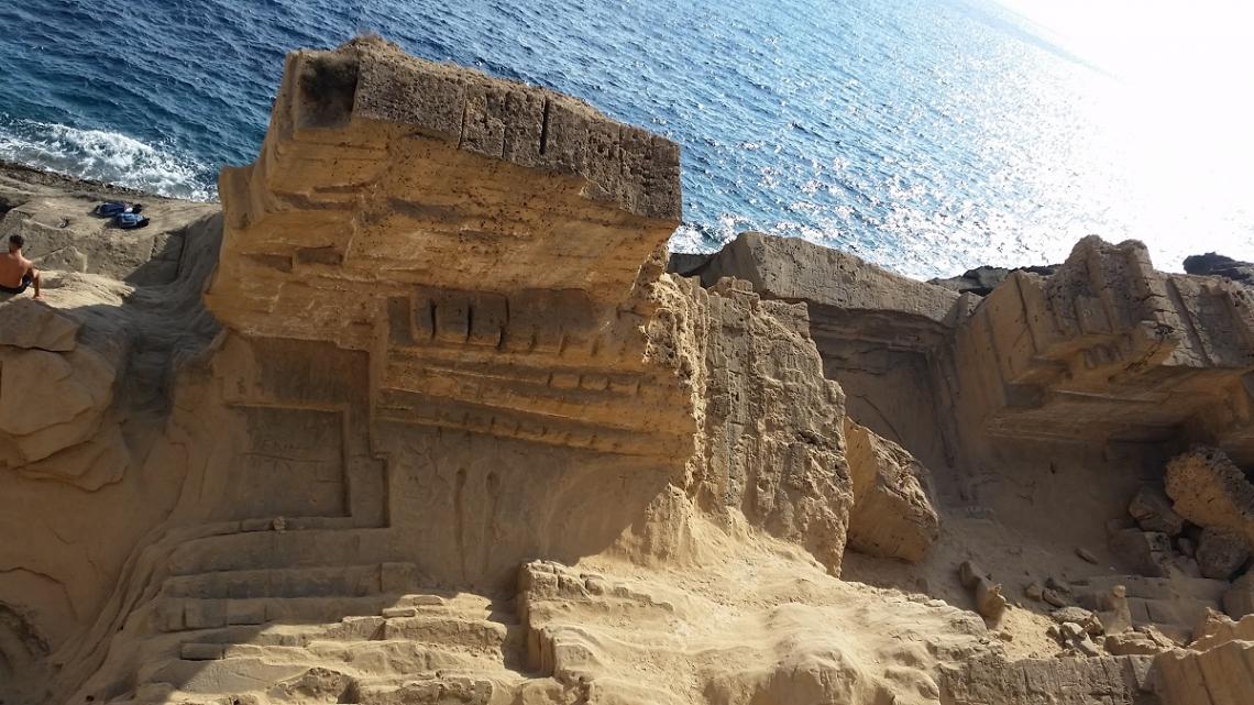 Steinbruch Atlantis auf Ibiza