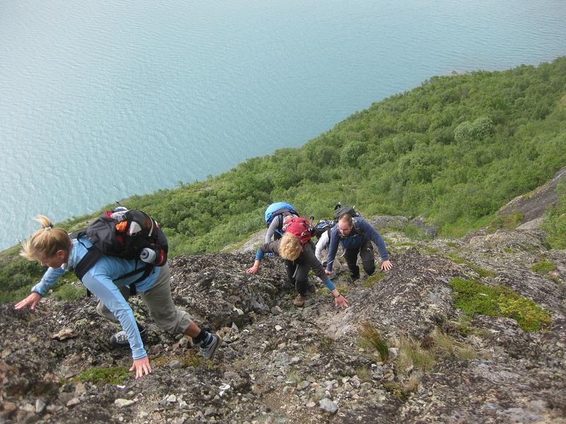 Norwegen Wanderung Basseggen über den Jo-Stigen