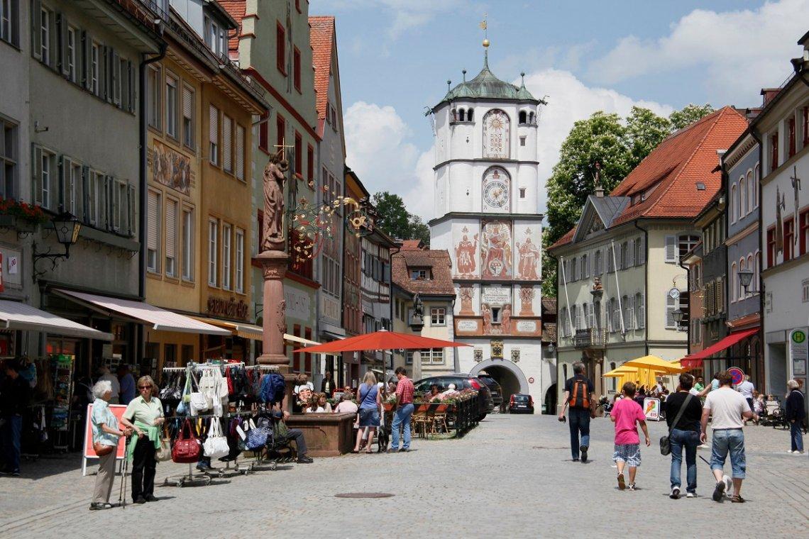 Innenstadt von Wangen im Allgäu