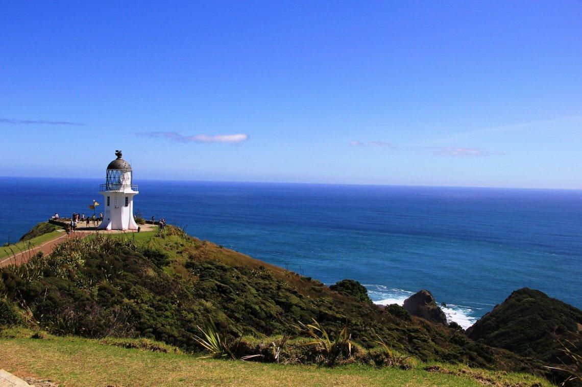 ausflugsziel Cape Reinga auf der Nordinsel von Neuseeland