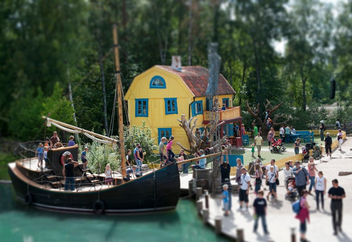 Villekulla Cottage in Astrid Lindgren's World, Vimmerby