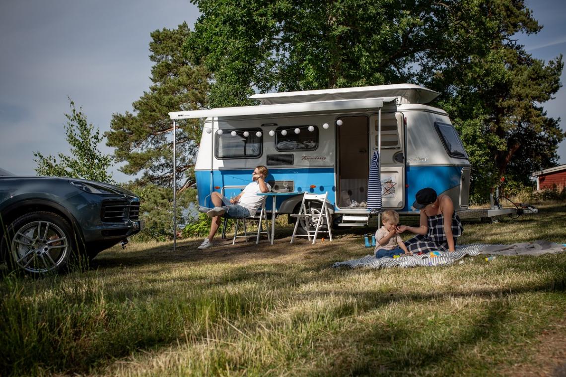 Details zum Kult-Wohnwagen Eriba Touring