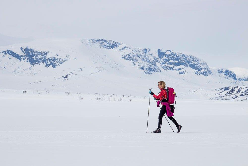 Skilanglauf bei Geilo in Norwegen